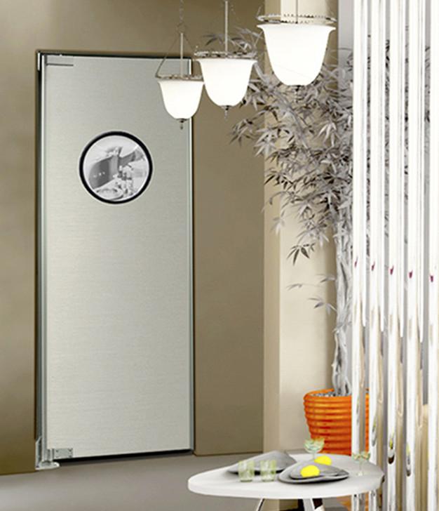 Stainless Steel Wood Core Kitchen Doors