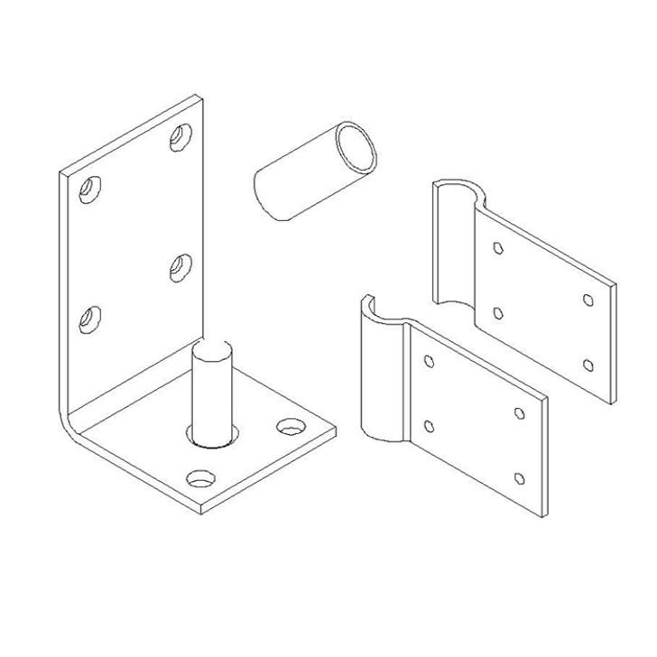 Lower Hinge Assembly Kit AL