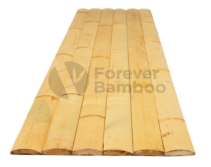 "Natural Bamboo Slats 1.75"" x 6' x 0.25"" (30 Pack)"