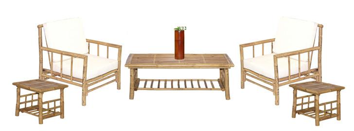 6 Piece Chai Bamboo Furniture Set