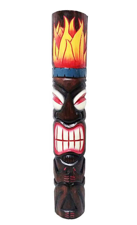 "40"" Fire Tiki Mask"