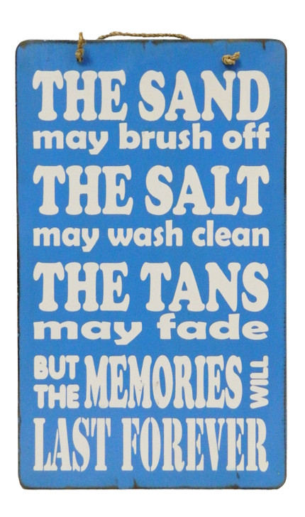 """Retro Sign """" The Sand May Brush Off ..... """""""