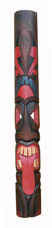 "60"" Tahitian Tongue Tiki Mask"