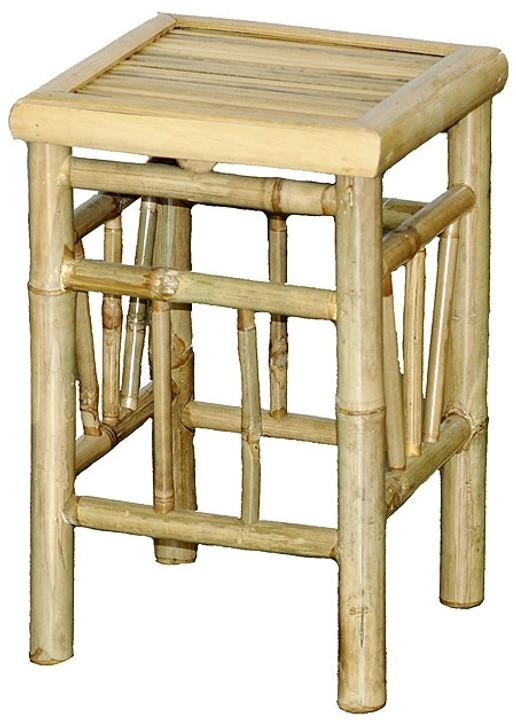Stool Bamboo Pedestal
