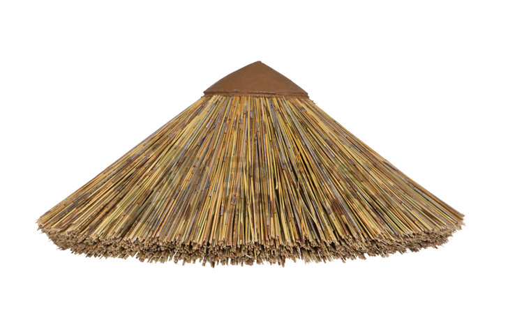 """African Thatch Reed Top Cone 31"""""""