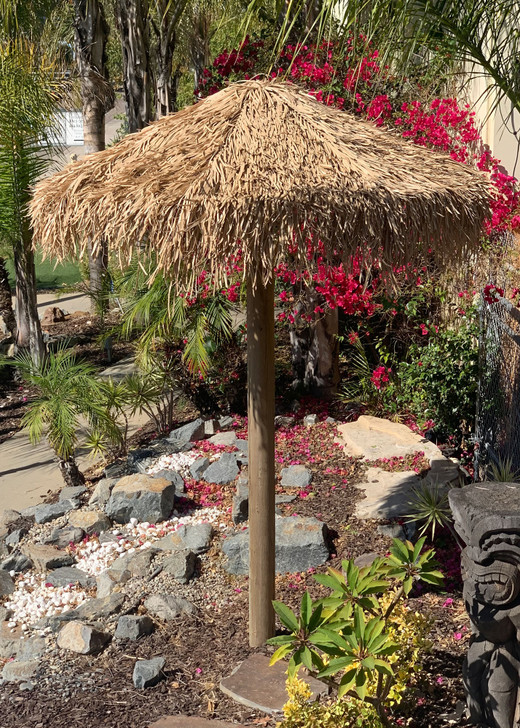 Artificial Mexican Palm Thatch Umbrella Cover 9'