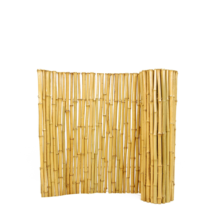 """Natural Bamboo Fence 1"""" D x 3' H x 8' L"""
