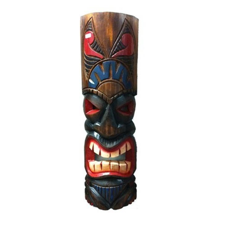 "20"" Classic Tahitian Tiki Mask"