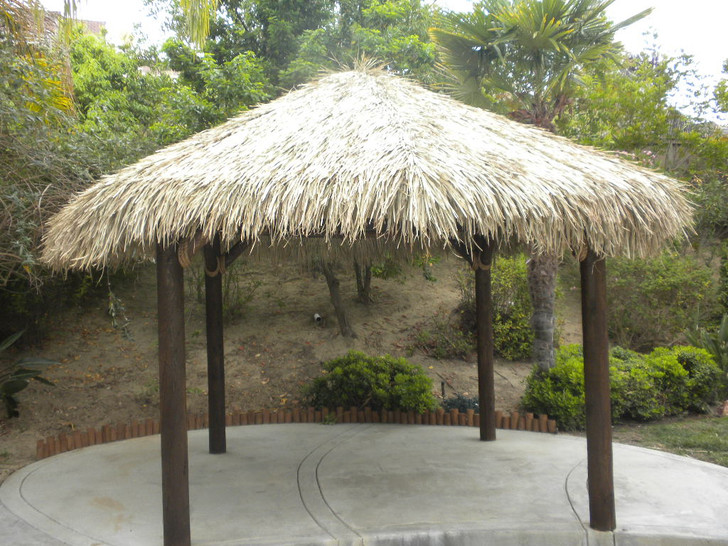 12' Four Pole Tiki Hut