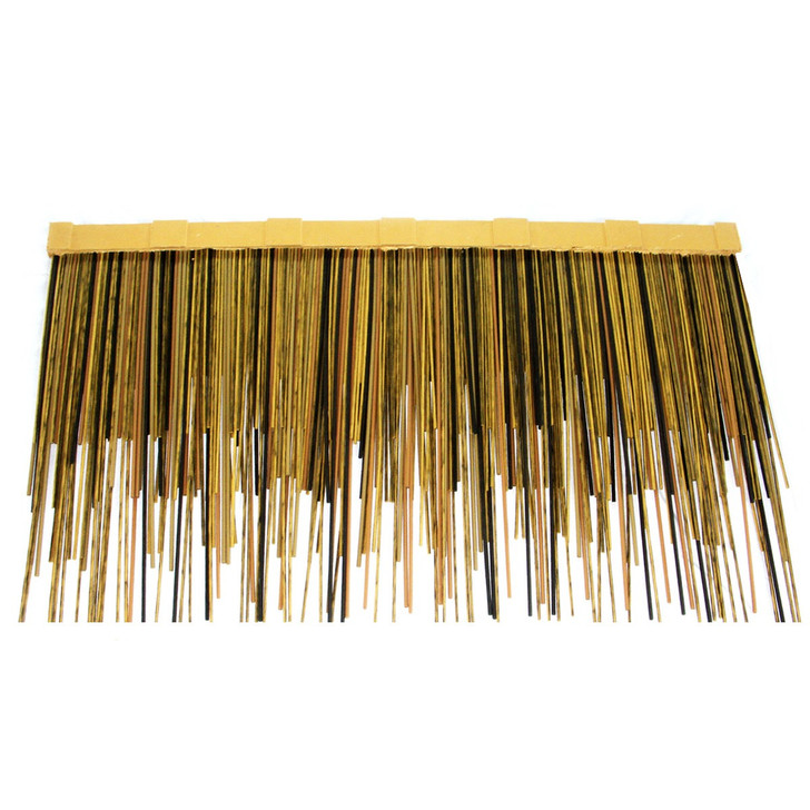 "Viro Reed African Thatch Starter 31"" L x 9.85"" H - Fire Rated"