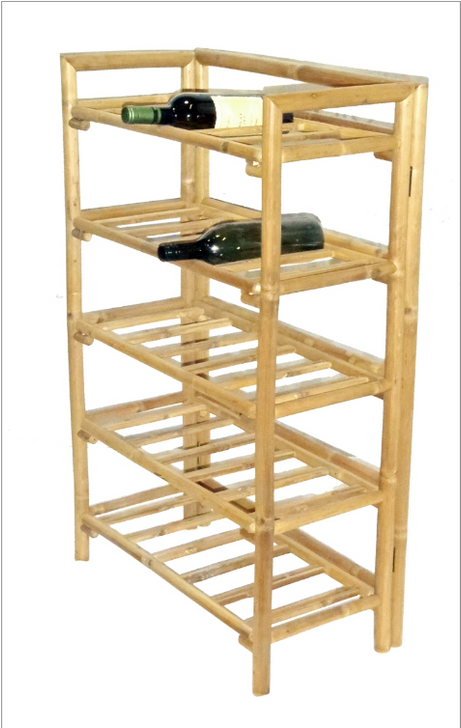 Bamboo Wine Rack, Large