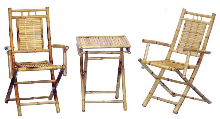 Bamboo Bistro Set