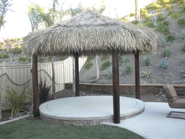 14' Four Pole Tiki Hut