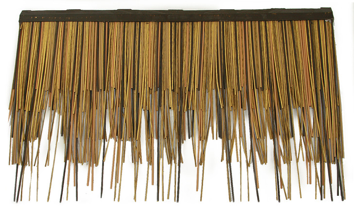 "Viro Reed African Thatch Subroof 31"" L x 16.5"" H - Fire Rated"