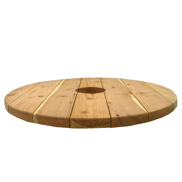 """Redwood Table - 24"""" Diameter"""