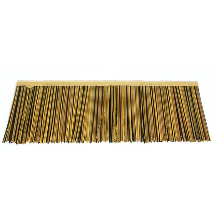 "Viro Reed African Thatch Eave 31"" L x 3.94"" H - Fire Rated"