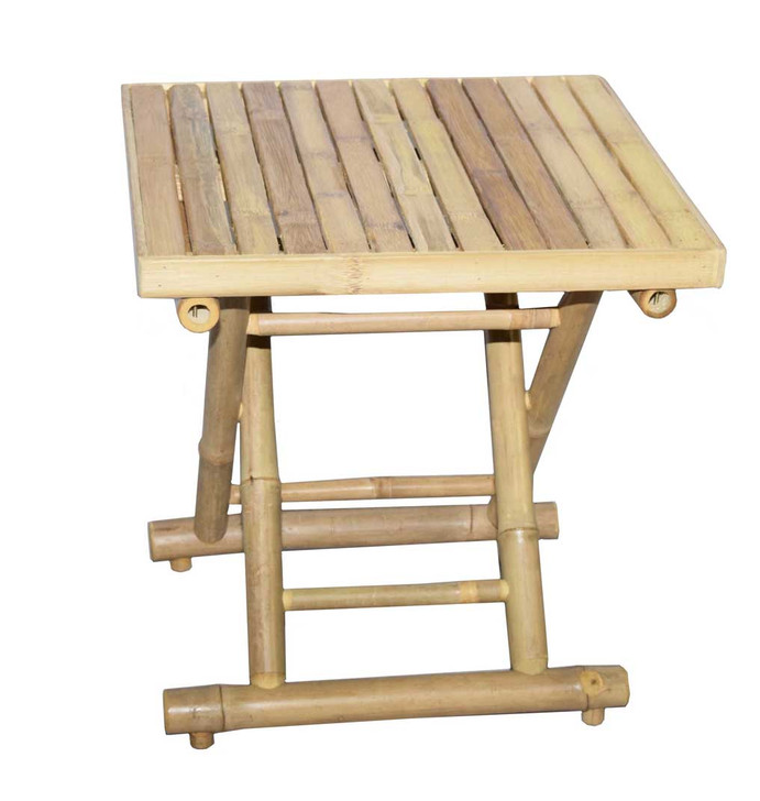 Square Bamboo Folding Low Table