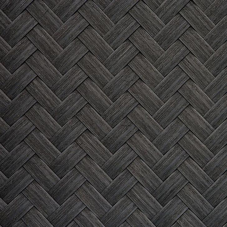 Herringbone weave - V20 Rustic Black 4' x 25'