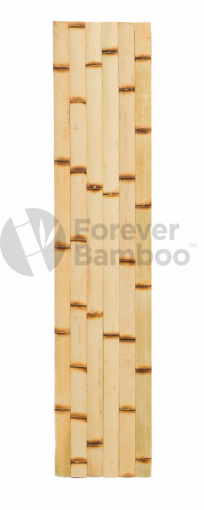 "Natural Burnt Bamboo Slats 1.75"" x 6' x 0.25"" (50 Pack)"