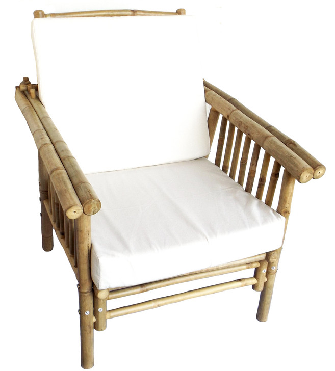Mikong Bamboo Chair with Cushion