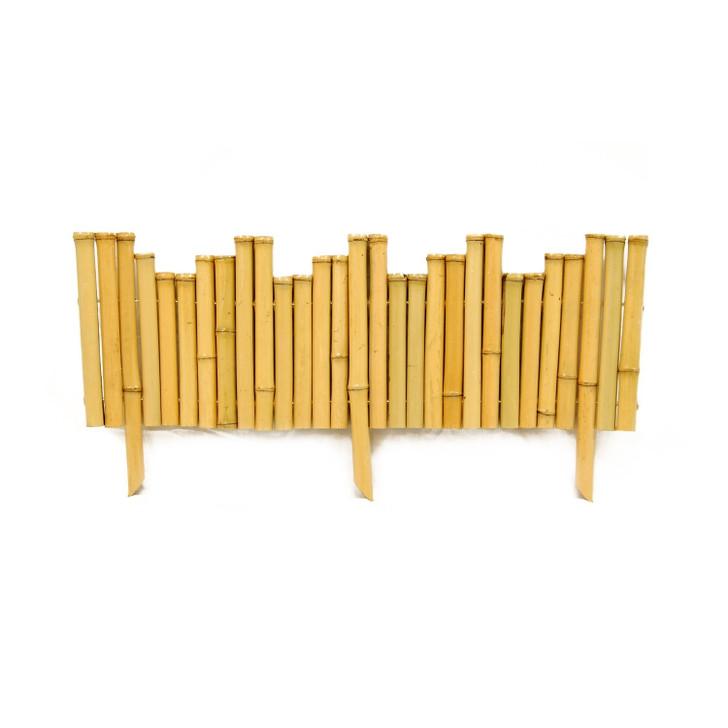 Bamboo Natural Border Edging (12-Piece/Case)