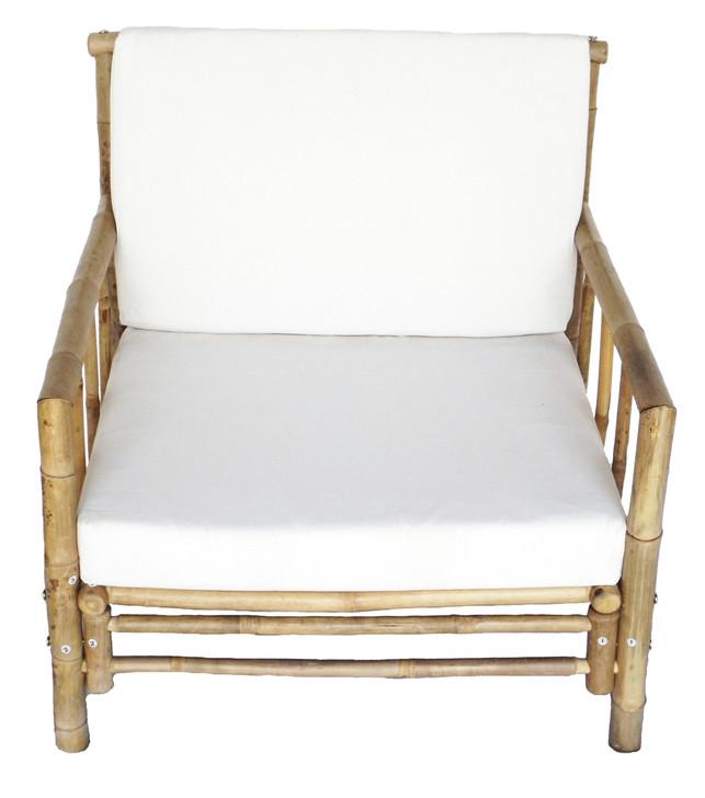 Chai Bamboo Chair with Cushion