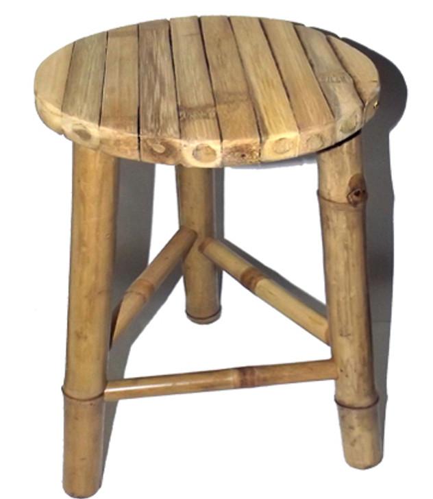 Small Bamboo Stool