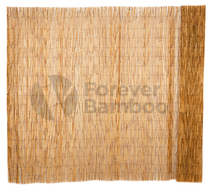Peeled Reed Coffee Fencing - 6ft. H x 16 ft. L (2 Pack)