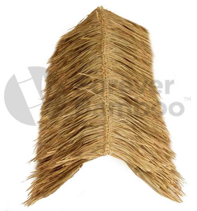 "Mexican Palm Thatch Ridge Cap Roll 30"" x 12'"