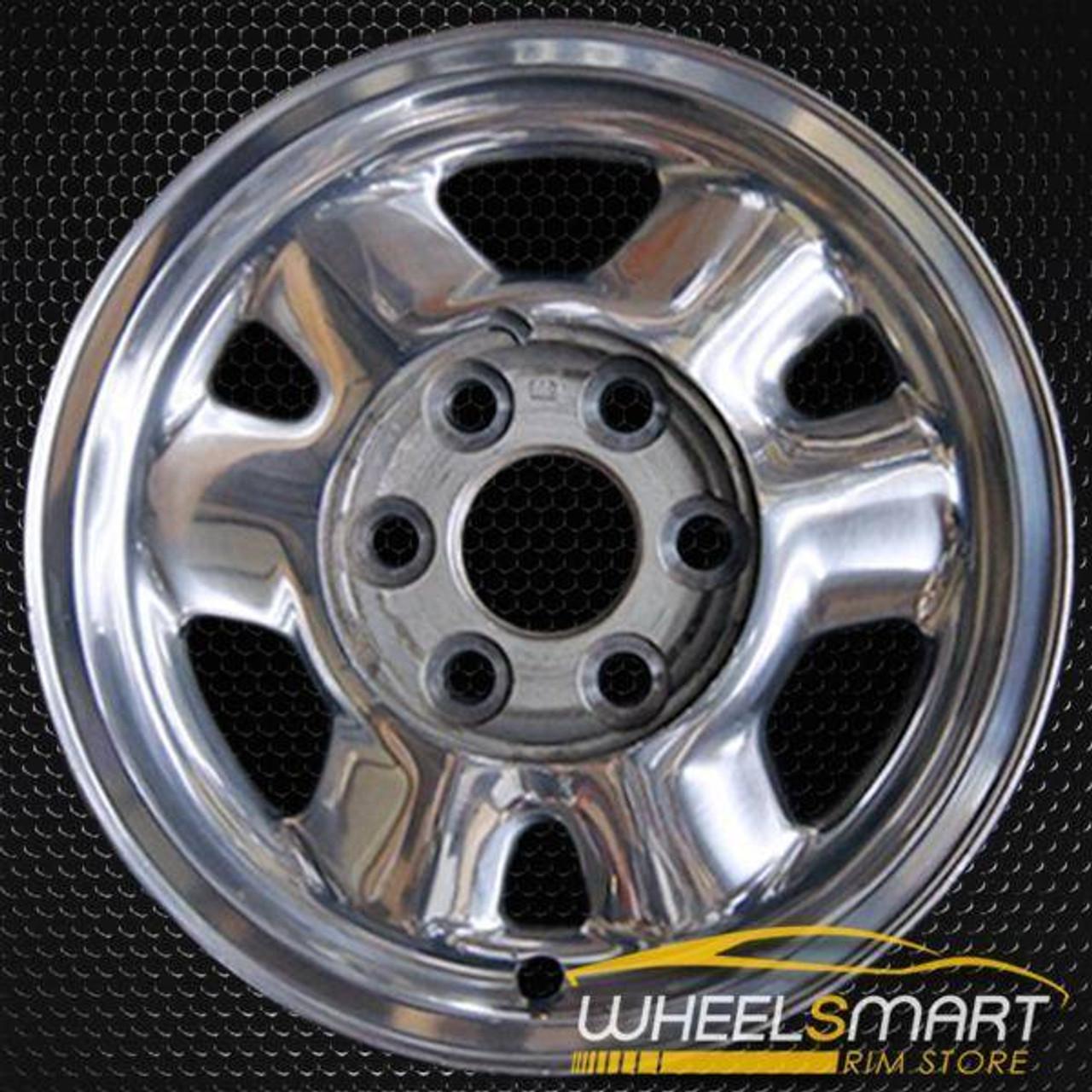 1999 2003 Gmc Yukon Oem Wheels For Sale 16 Polished Stock Rim 5095