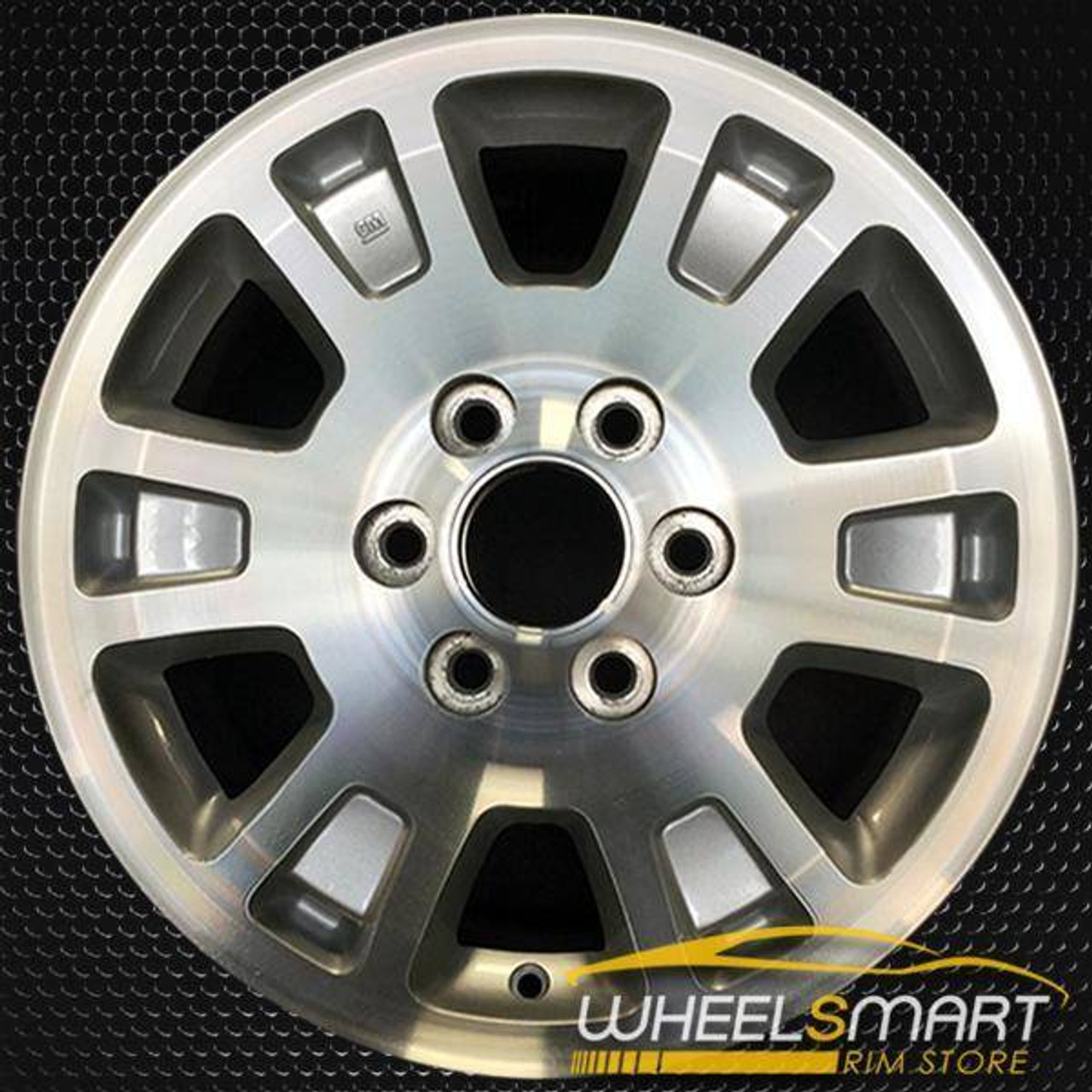 2005 2008 Gmc Sierra 1500 Oem Wheels For Sale 17 Machined Rim 5222