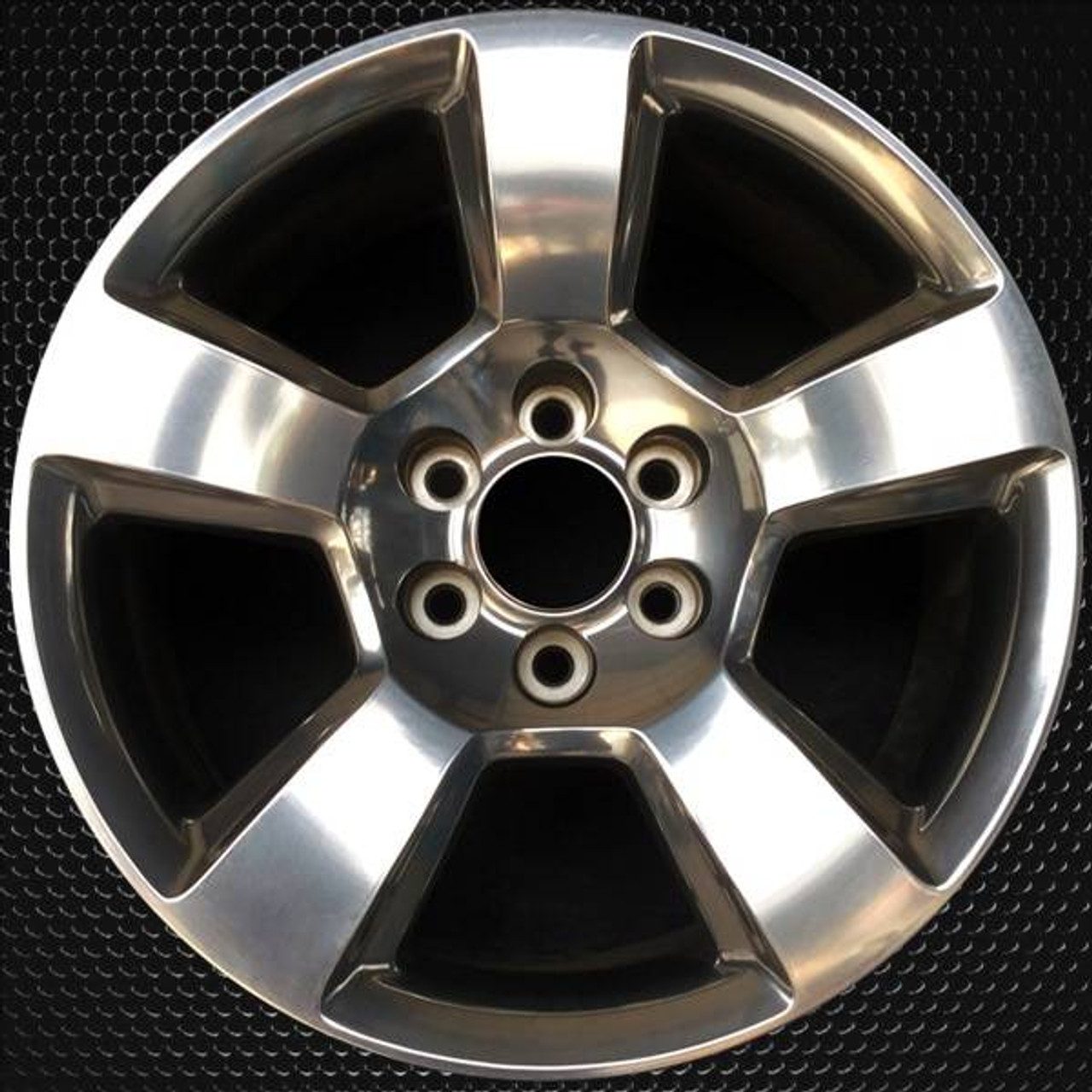 2014 2019 Chevy Silverado Oem Wheels 20 Polished Stock Rims 5652