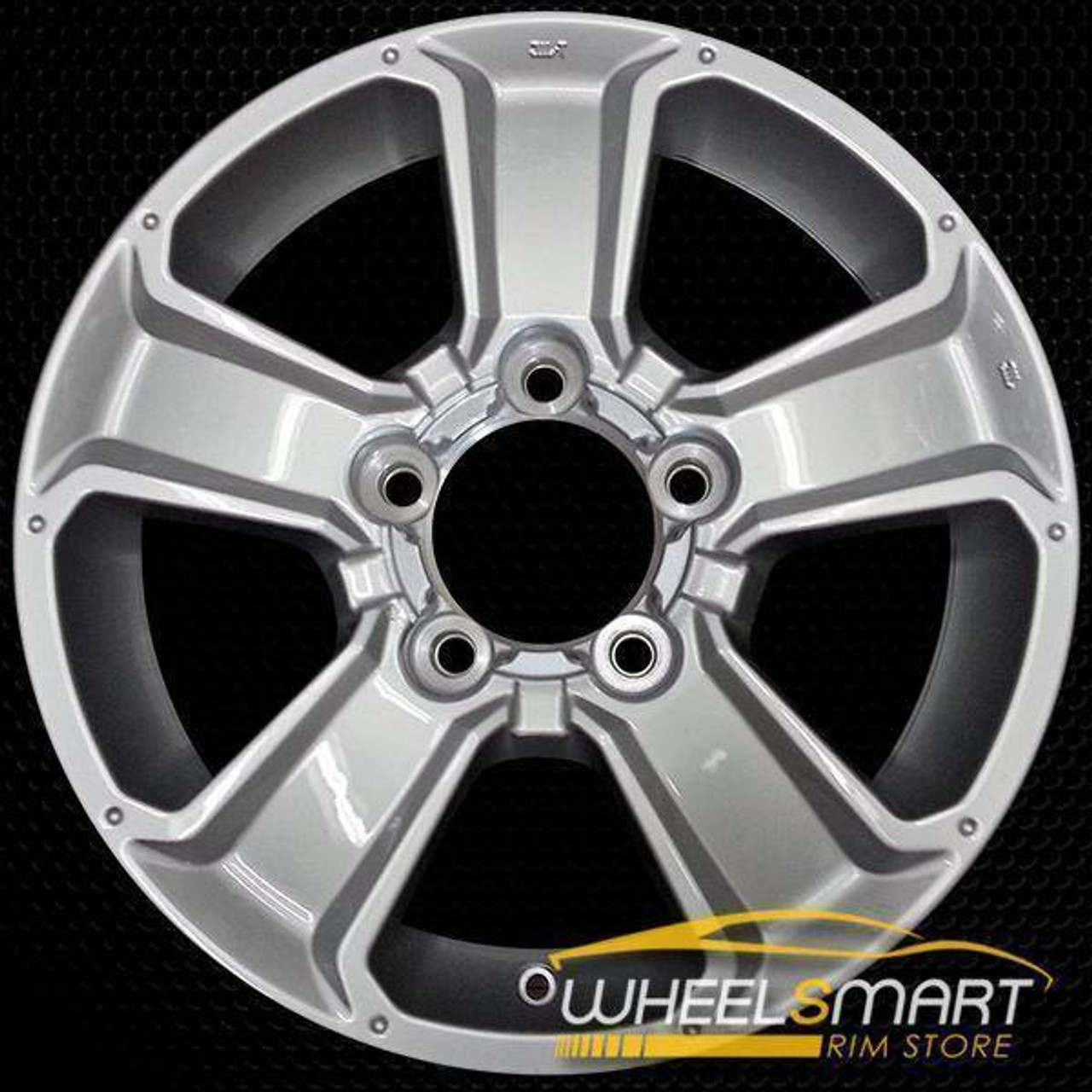 Rim Fits Toyota Sequoia Replacement Toyota Tundra 2007-2017 18 inch Silver Steel Wheel