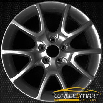 "17"" Dodge Dart oem wheel 2013-2016 Hypersilver alloy stock rim ALY02445U79"