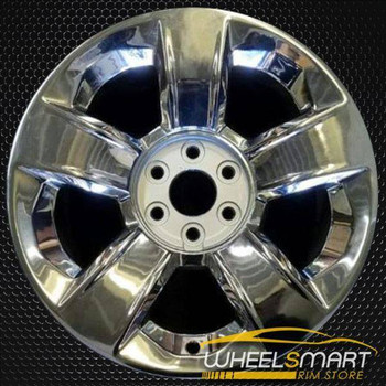 "20"" Chevy Silverado oem wheel 2014-2017 Chrome alloy stock rim ALY05651U85"