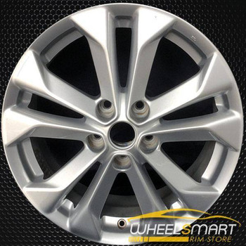 "17"" Nissan Rogue oem wheel 2014-2018 Silver alloy stock rim ALY62617U20"