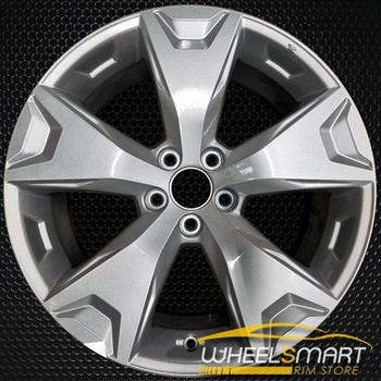 """17"""" Subaru Forester oem wheel 2014-2016 Silver alloy stock rim ALY68814U20"""