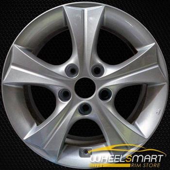 """16"""" Hyundai Elantra oem wheel 2013-2016 Silver alloy stock rim ALY70835U20"""