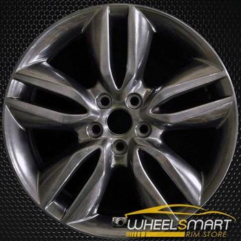 "19"" Hyundai Santa Fe oem wheel 2013-2016 Hypersilver alloy stock rim ALY70846U77"