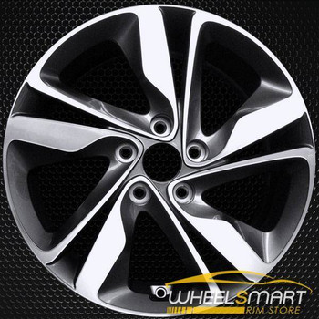 "17"" Hyundai Elantra oem wheel 2014-2016 Machined alloy stock rim ALY70860A30"
