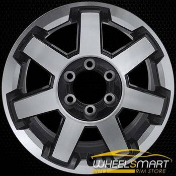 "17"" Toyota 4Runner oem wheel 2014-2018 Machined alloy stock rim ALY75154U30"