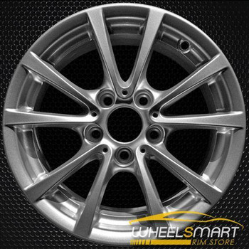 "16"" BMW 3 Series oem wheel 2011-2016 Silver slloy stock rim ALY97642U20"