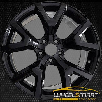 "17"" Jeep Cherokee oem wheel 2014-2017 Black slloy stock rim ALY09131U45"