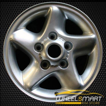 "16"" Dodge Ram 1500 oem wheel 1996-2001 Silver alloy stock rim ALY02067U10"