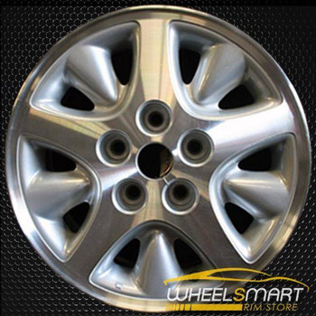 "15"" Chrysler Voyager oem wheel 1996-2000 Machined slloy stock rim ALY02071U20"