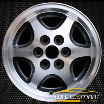 "15"" Dodge Dakota oem wheel 1996 Machined slloy stock rim ALY02079U10"