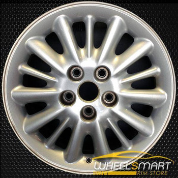 "16"" Chrysler Town and Country oem wheel 1999-2000 Silver alloy stock rim ALY02107U15"