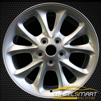 "17"" Chrysler 300M oem wheel 1999-2001 Silver slloy stock rim ALY02115U20"