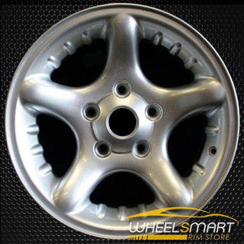 "17"" Dodge Ram 1500 oem wheel 2000-2001 Silver alloy stock rim ALY02126U10"