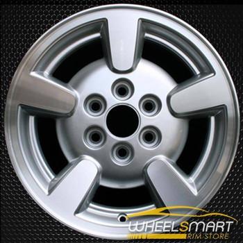 "15"" Dodge Durango oem wheel 2001-2002 Machined slloy stock rim ALY02132U10"